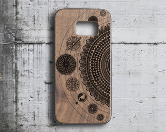 Mandala Galaxy S6 case solar system samsung s7 case,custom wood s5 case phone case  initial samsung galaxy S4 case  galaxy s7 case