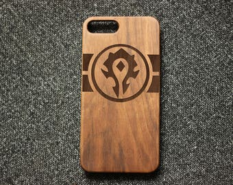 world of warcraft  Iphone 6 plus case iphone 6 case wood iphone 7 cover  iphone 6s case gift for her iphone se case iphone 5 case her gift