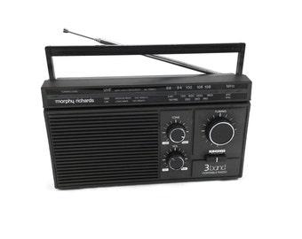 Morphy Richards R150 3 band portable radio