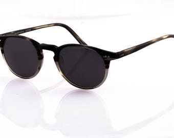 Oliver People Riley Polarized Sunglasses - STRM GRAY 45-21-145 (New Polarized Lens) UNIQUE