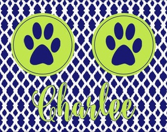 Pet Food Mat - Fret - Place Mat Dog Cat Animal Customized Personalized  Neoprene Foodmat Placemat Top Selling Best Seller