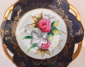 Stunning 7.5 In Shafford Japan Cabinet Plate