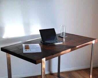 Industrial Vintage Rustic Desk - Modern Design