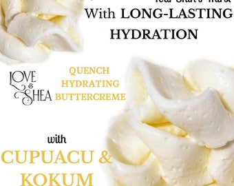 Cupuacu Body Butter  with Shea Butter Kokum Butter for skin  natural hair butter