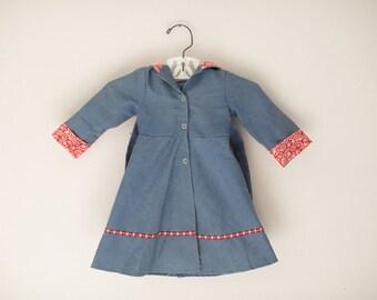 Vintage Baby Coat-Vintage Baby Clothes-Vintage Baby Jacket
