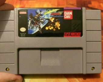 Mobile Suit Gundam Wing: Endless Duel - Super Nintendo SNES - Repro English Translation - Reproduction