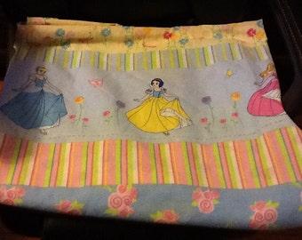 Disney Princess Twin Sheet Great Cutting Fabric Project Material