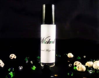 Perfume - Wicked - Roll on Perfume -  Fragrance Oil - Perfume Oil - Vegan Perfume - Organic Perfume - Gothic Perfume - Gifts For Her