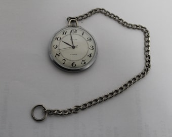 Vintage pocket watch PRIM,17jewels