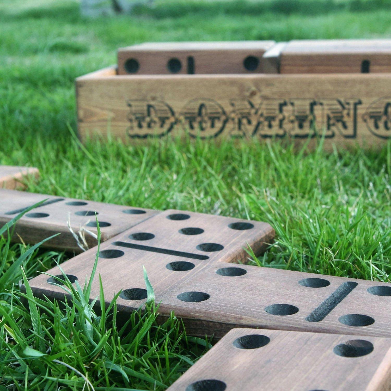 Yard Dominoes Outdoor Games Yard Games Handmade