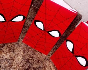 SpiderMan Treat Bags