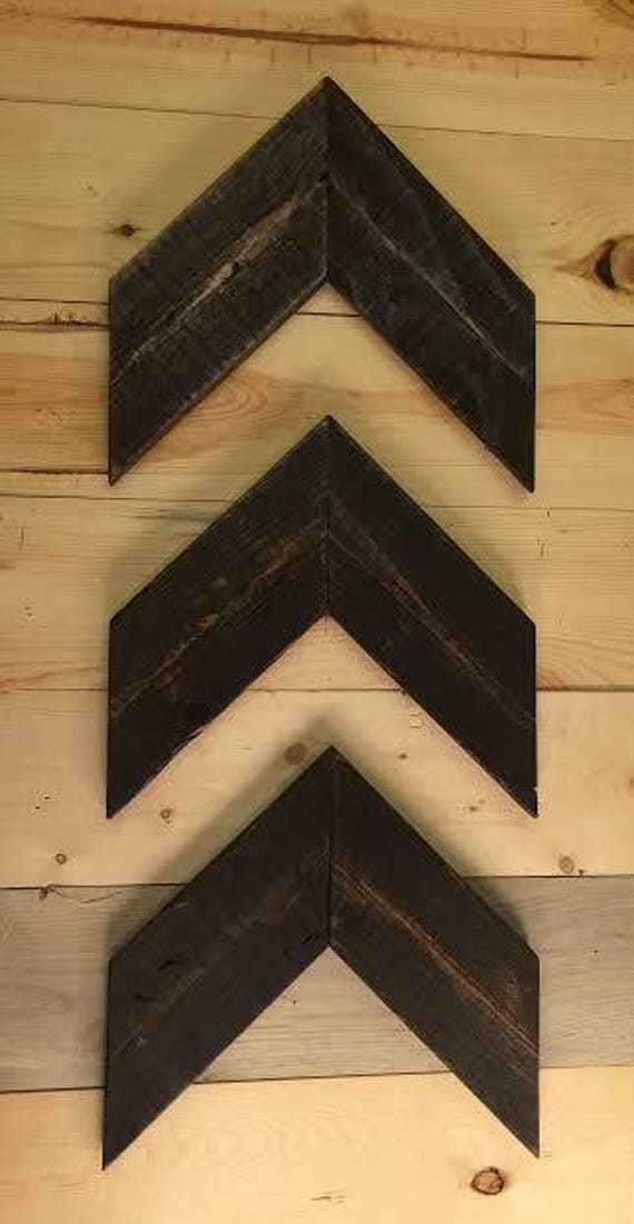 Wooden Arrows, Chevron Arrows, Arrow Wall Art, Arrow Décor, Chevron Wood Arrows,Wood Wall Art, Farmhouse Décor, Set Of Three, Rustic Arrows