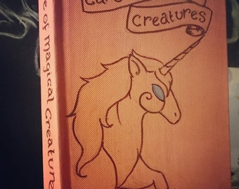 Care of Magical Creatures, blank book