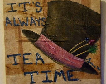 mad hatter tea time