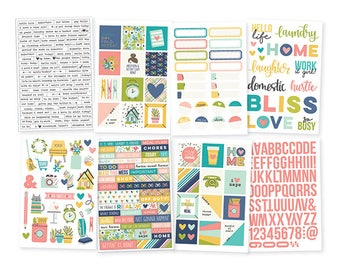 "Simple Stories ""Domestic Bliss"" Stickers"