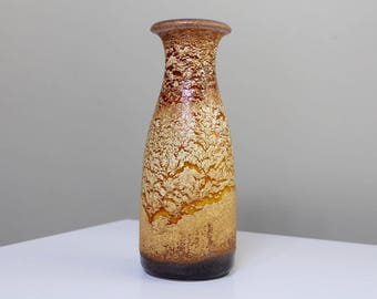 Scheurich: Vintage West German Ceramic Vase with Haro Glaze no. 293-26