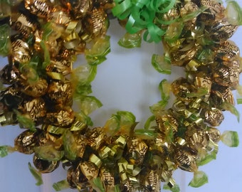 Eddible Wether's Original Caramel apple candy wreath