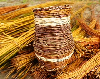 how to start a willow basket
