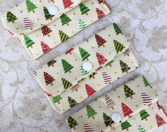 Gift Card Holders, Christmas Gift Card Holders, Set of 3 Gift Bags, Business Card Holder, Credit Card Holder Fabric Pouch