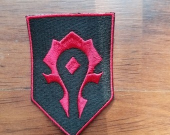 Warcraft - Alliance and Horde Banner Patches