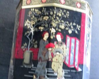 ancient China Japan Asia Tin Tin rare vintage