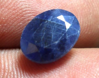 natural sapphire gemstone,loose sapphire faceted stone,cts 3.40 size 7x10x4 mm,PCD 1725