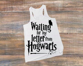 Waiting On My Letter From Hogwarts-Iron On Decal-Mischief Managed-Vinyl Decal-Car-Coffee Mug-Tumbler-DIY