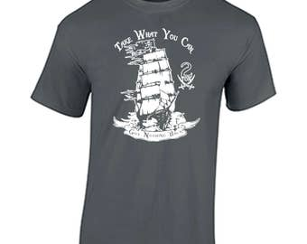 Pirates of the caribbean take what you can give nothing back tee shirt t captain jack sparrow  Dead Men Tell No Tales new film at worlds end