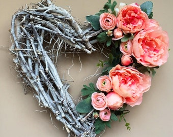 Heart, Spring Wreath