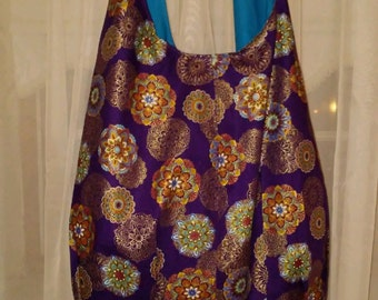 Market Bag / Hobo Purse / Over-sized Shoulder Bag / Custome Made