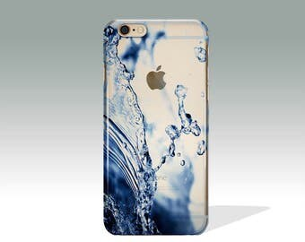 iPhone 7 Case Clear Hipster iPhone 6 Case Clear iPhone 7 Plus Case iPhone 5 SE Case Water iPhone 6s Case  iPhone 6s Case iPhone Case //115