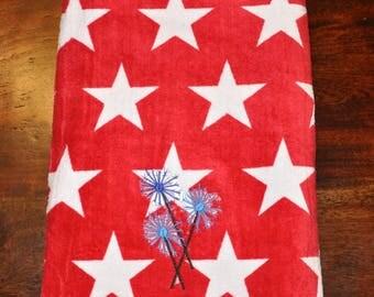 4th of July Beach Towel