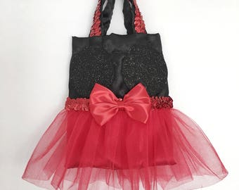 Minnie Mouse Inspired Party Favor Bags