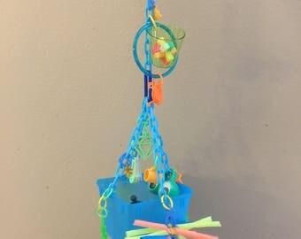Sugar glider interactive/foraging toy