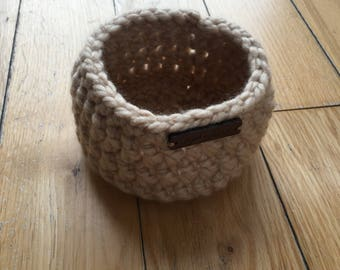 Small Crochet Basket/Bowl