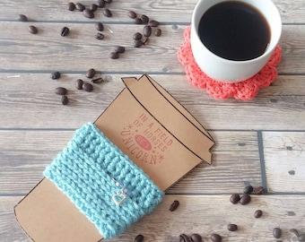 Coffee Cozy: Reusable Eco-friendly Coffee Sleeve