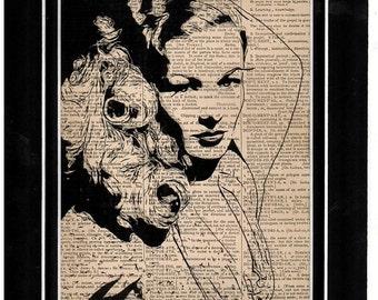 82 Veronica Lake Dictionary Art