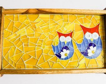Small Mosaic Trays
