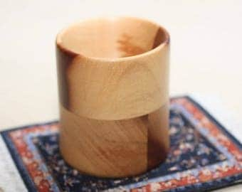 Spindle Support Bowls by Jim Hokett,  exotic wood Perhambuco