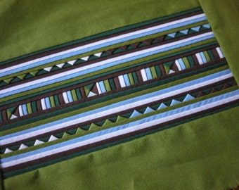 Handmade applique Lisu textile - for patchwork - Fairtrade tribal craft supply for craft - new textile
