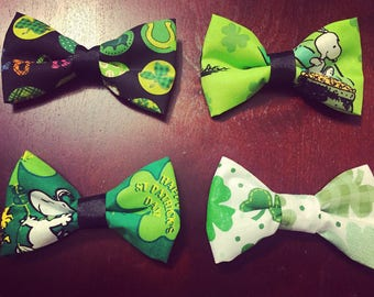 St. Patrick's Day Bowties