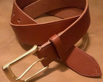 Brown Leather Belt, Black Leather Belt, American Bridle Leather Belt, Men's Leather Belt, Men's Belt, Leather Belt, Handmade Leather Belt