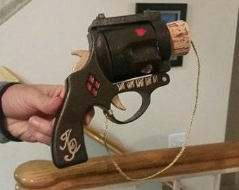 Harley Quinn Cork Gun Full Scale 3D Printed Cosplay