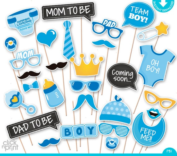 Baby shower print yourself photo booth props baby shower baby shower print yourself photo booth props baby shower printable photo props set its a boy photobooth baby blue baby shower solutioingenieria Gallery