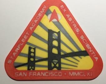3D Printed Starfleet Academy Logo Coaster / Plaque