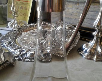 Silver-glass pitcher