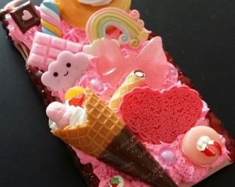 Kawaii Decoden Iphone 6/6s Case Sweets