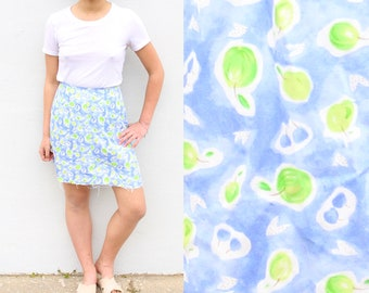 Printed A Line Skirt Kawaii Skirt