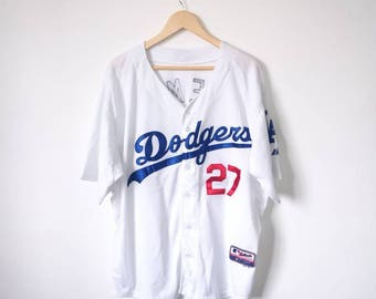"On Sale!! Los Angeles DODGERS ""Matt Kemp"" Number 27 Baseball Team Jersey Size 52"