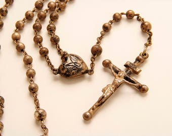 1800's Silver Rosary